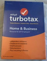 2018 TurboTax Home & Business Personal And Self-Employed For Windows and... - $59.99