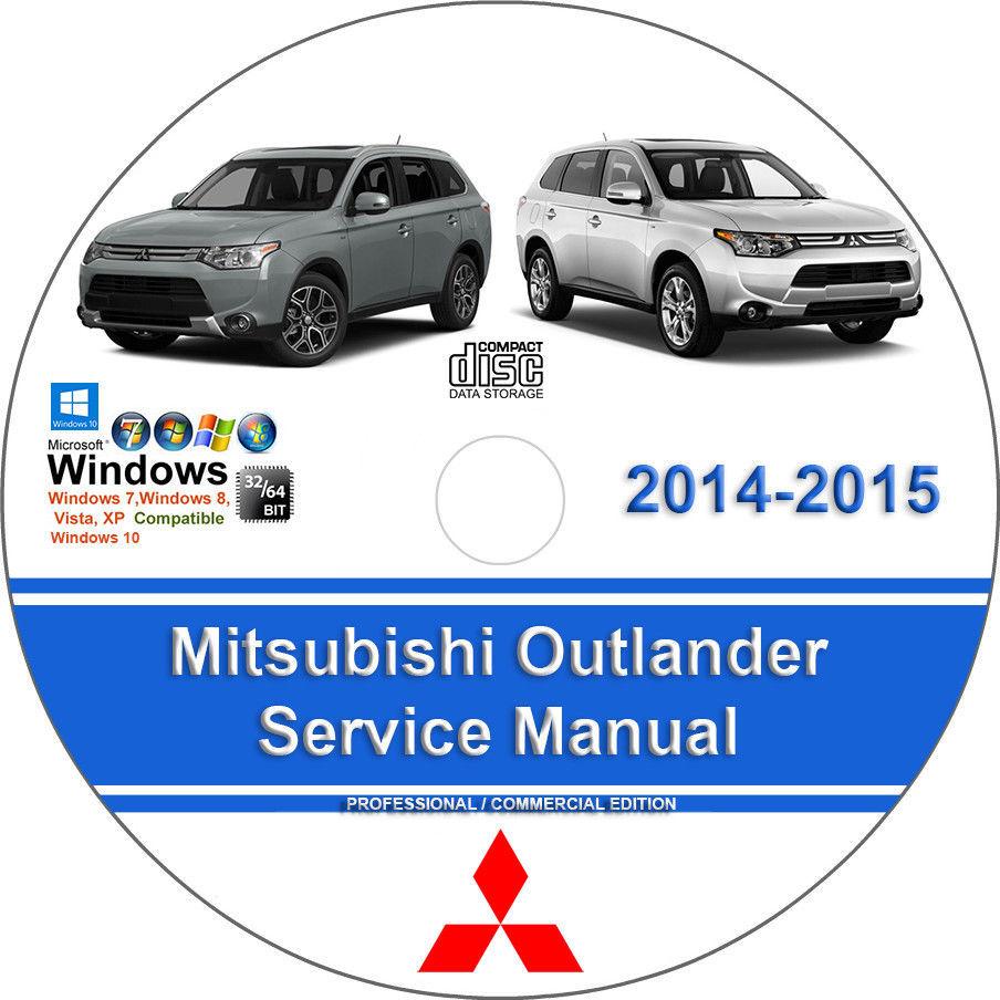 19. 19. Mitsubishi Outlander 2014 2015 2.4L 3.0L Factory Workshop Service  Repair Manual