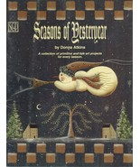 Tole Decorative Painting Primitive Folk Art Seasons of Yesteryear Atkins Book - $13.99