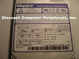 Maxtor 71670AP 1.6GB 3.5IN IDE Drive Tested Good Free USA Ship Our Drives Work