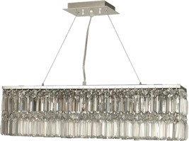 Chandelier DALE TIFFANY CANLEY 3-Light Polished Chrome - $789.99