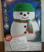 "Wilton Stand-up Snowman Pan (2105-2047) 9.5"" x 7"" - $12.59"