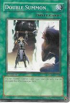 Yu-Gi-Oh Card- Double Summon (Spell Card) - $1.00