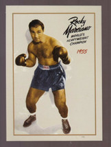 ROCKY MARCIANO UNDEFEATED WORLD HEAVYWEIGHT BOXING CHAMPION ONLY 500 EXIST - $9.86