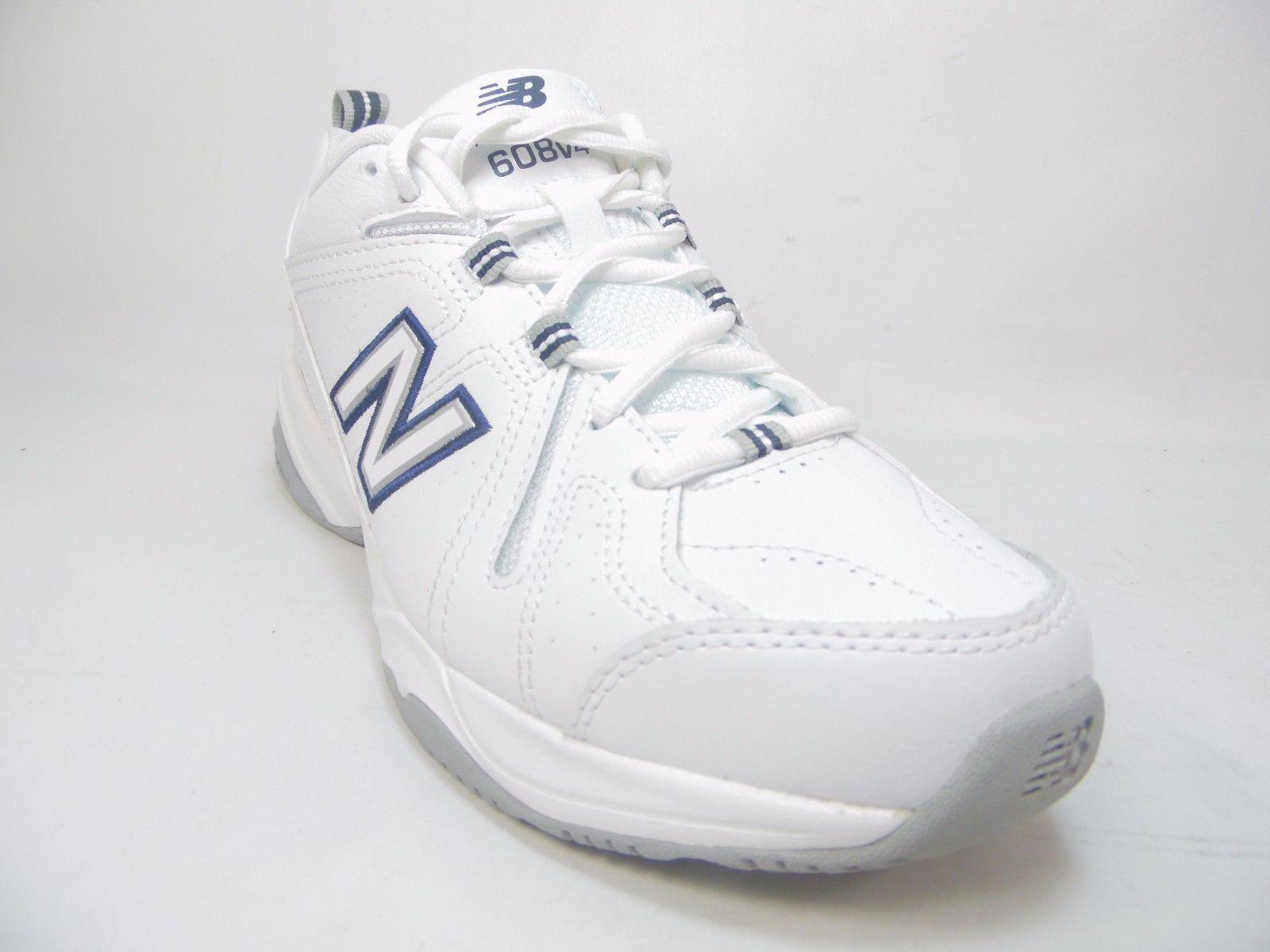 newest 05b44 e4c1b New Balance 608V4 Womens Training Shoes White Gray Size 9.5B
