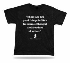 W. Somerset Maugham Best Tee Quote Apparle Birthday Gift Idea Special Shirt - $7.57