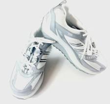 Skechers Women Shape-Ups Walking Shoes 8 Leather White/ Silver SN 11814 ... - $39.59