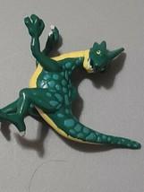 "1999 Monster Rancher 1.75"" Green Zuum Zoom Mini Figure Playmates - $7.92"