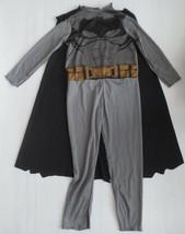 Superhero Batman Kids Costume With Cape - Size S/P (4-6) - NEW - $7.99