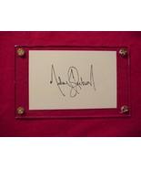 MICHAEL JACKSON  Autographed Signed Signature Cut w/COA - 30668 - $125.00