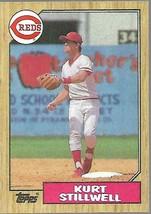 1987 Topps Baseball-#623-Kurt Stillwell -Reds - $4.04