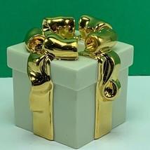 Lenox candleholder gold club candle holder votive porcelain christmas gi... - $19.06