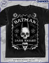 Batman Ouija Board Fou DC COMICS Héros Superhéros Heroes Noir T-Shirt S-3XL - $22.99