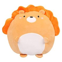 Cute Lion Plush Pillow Soft Huggable Stuffed Animal Toy Gifts for Bed Sofa Chair - $24.70