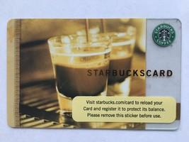 RARE Starbucks Gift Card Double Steaming Espresso Cups Barista  No Value 2006 - $1.91