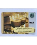 RARE Starbucks Gift Card Double Steaming Espresso Cups Barista  No Value... - $1.91