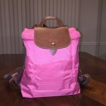 NWOT Longchamp Le Pliage Nylon Backpack In Flower - $116.67