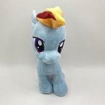 My Little Pony Unicorn Friendship is Magic Rainbow Dash Bolt Blue Plush ... - $14.84