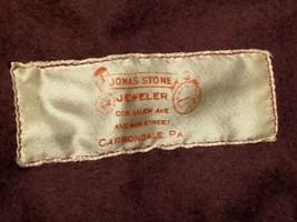 Jonas Stone Jeweler Carbondale Pa Tarnish Silverware Tablespoon Roll Bag... - $17.75