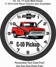 1963 CHEVROLET C-10 PICKUP WALL CLOCK-Free USA Ship - $28.70+