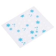 50pcs Snowflake Design Nail Sticker(Colormix Style 06) - $14.85