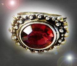 HAUNTED RING # 1 SPELL STORING RING MASTER VESSEL EXTREME MAGICK MYSTICAL - $404.77