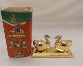 IOB Vinayak 24K Gold-plated Murties Ducks - $14.03