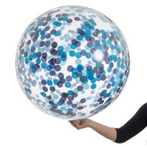 "36"" Ocean Blue Giant Confetti Balloon - Dusty Lagoon Navy - $15.00"
