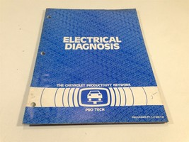 1982 Chevrolet Pro Tech Electrical Diagnosis Service Procedures Blue Book - $9.99