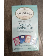 Twinings Assorted Herbal Tea, 20 ct NEW! Free & Fast Shipping - $14.75