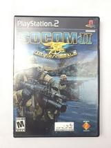 Socom II Us Navy Seals PS2 Playstation 2 Game Complete - $9.89