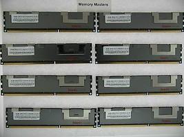 64GB (8X8GB) MEMORY FOR HP PROLIANT BL460C G6 BL460C G7 BL490C G6