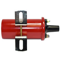Oil-Filled Canister Style Female Remote Ignition Round Coil w/ Mounting Bracket image 9