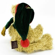 1993 Ty Attic Treasures Spruce Holiday Christmas Teddy Bear Beanbag Plush Toy image 3