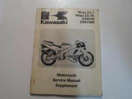 1993 1994 1995 Kawasaki Ninja ZX-7 ZX-7R ZXR750 ZXR750R Service Manual S... - $138.55