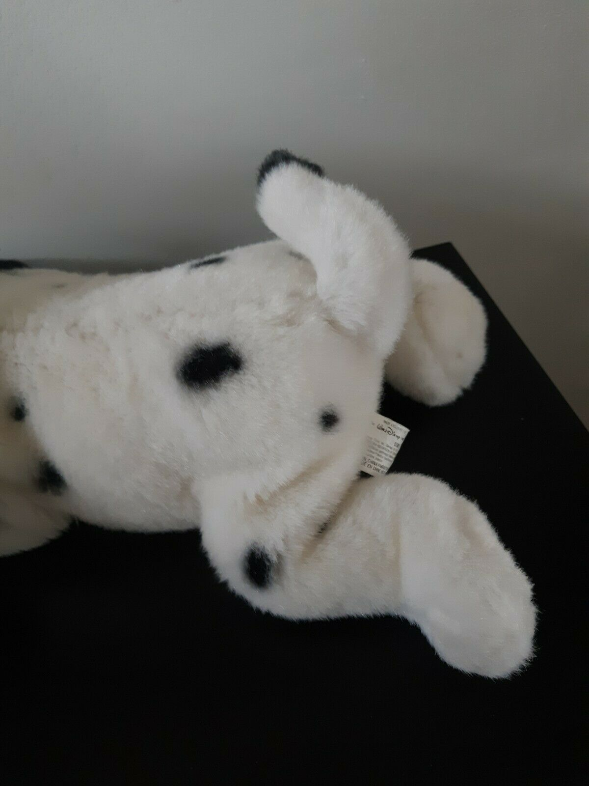 Vintage The Disney Store 101 Dalmatian Little Dipper Blue Collar Plush Stuffed