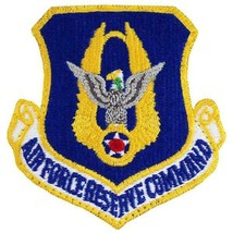 Genuine U.S. Air Force Patch: Reserve Command - Full Color With Hook Closure - $20.77