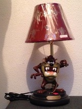Extremely Rare! Looney Tunes Taz Tasmanian Devil Figurine Statue Table Lamp - $247.50