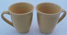 Culinaria-Pound Cake (Light Yellow) Collectible Ceramic Set of Two Mugs ... - $18.50