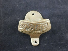 Vintage Brass Coca Cola Wall Mount Bottle Opener - $9.85