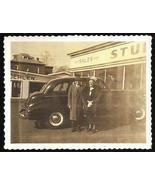 Polaroid Photo Studebaker Auto Car Showroom Storefront Polaroid - $14.99