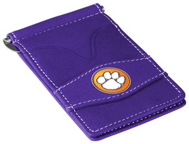 Clemson Tigers Purple Officially Licensed Players Wallet - $19.00