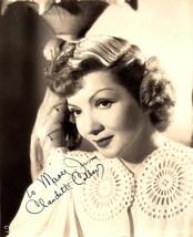 Claudette Colbert Vintage Autographed Autograph Signed Hollywood Film Mo... - $325.00