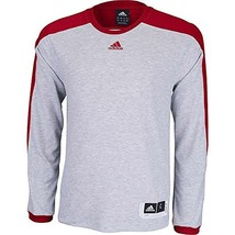 adidas Men's Team Speed Shooting Shirt (Small, Grey/Red) - $772,11 MXN