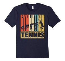 Amazing shirt - Vintage Retro Evolution Of Tennis. Funny Shirt Gift Men - $19.95+