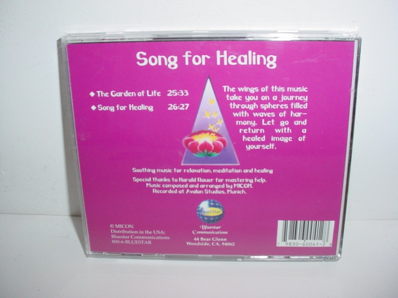 Song for Healing by Micon Music CD