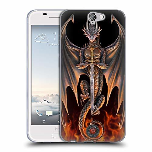 Official Anne Stokes Warrior Dragons 4 Soft Gel Case Compatible for HTC One A9