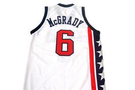 Tracy McGrady #6 Team USA Men Basketball Jersey White Any Size image 2
