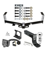 """Trailer Hitch & 7Way Wiring For 07-19 Toyota Tundra + 2-5/16"""" Ball 4"""" Dr... - $239.48"""
