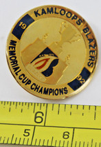 Kamloops Blazers 1992 Memorial Cup Champions Canada Collectible Pin - $10.31